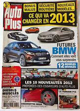 Auto Plus du 31/12/2012; Futures BMW/ Chaussettes neige/ Ferrari F12