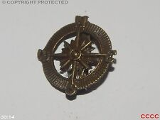 steampunk badge brooch pirate compass bronze assassin's creed black sails LARP