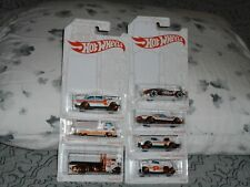 HOT WHEELS PEARL AND CHROME SET OF ALL 6 CARS + 1 CHASE CAR NICE SET HERE!!!!!