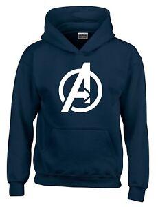 Avengers Logo SuperHero Mens Hoodie