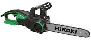 Elettrosega sega elettrica a catena HITACHI HIKOKI CS40Y barra cm.40 watt.2000