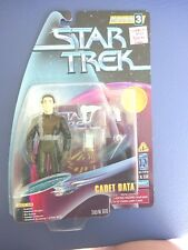 1997 Star Trek Cadet Data Action Figure, Sealed MOC