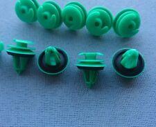 (213B) 10x Türverkleidung Abdeckung Clips Befestigung Klips Halter Panel grün