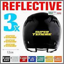 3x Yamaha Super Tenere XT 1200 Z Rerflective Yellow ADESIVI PEGATINA STICKERS
