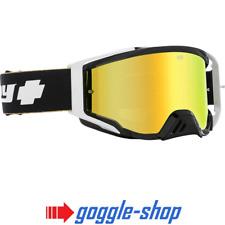 Gafas de espía Fundación Motocross MX - 25 Año de Oro Negro Lentes Espejados Especiales