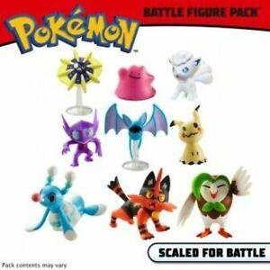 Pokemon Battle 3 Figure Wave 2 - Brionne Mimikyu Cosmoem Dartix Torracat Zubat