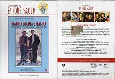 MARIO, MARIA E MARIO - ETTORE SCOLA - DVD (NUOVO SIGILLATO) EDITORIALE