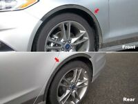4PC Stainless Steel Wheel Well Accent Trim - WQ53390 For FORD FUSION 2013-2019