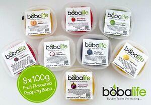 Popping Boba 8 x 100g Multipack