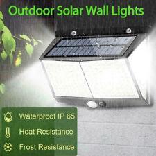 1x Solar Powered 288 LED PIR Motion Sensor Wall Light Garden Outdoor Lamp Decor