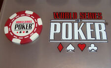 New World Series of Poker Chip Guard Las Vegas Rio Casino WSOP RED No Cash Value
