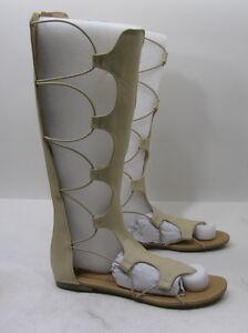NEW Skintone Open Toe Strap Sexy Summer Gladiator  SANDAL Women  Size  5.5