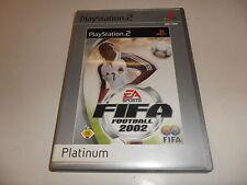 PlayStation 2  PS 2  FIFA Football 2002 (Platinum)