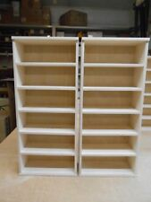 Handmade 2pc. 1:24 Jada Diecast  display shelves.  Holds 12 cars.