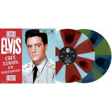 Presley Elvis Cafe Europa En Uniforme Doppio Vinile Lp (Green & Pink) Rsd 2021