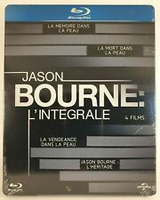 Jason Bourne Blu-ray SteelBook 1234 [Identity _Supremacy_Ultimatum_Legacy] Neuf