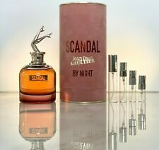 Jean Paul Gaultier Scandal By Night EDP Intense 2,3,5 or 10ml Sample