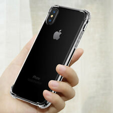 Clear Shockproof Phone Case For iPhone XR XS Max 8 7 6 6S Plus 7plus Soft Cover