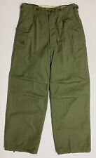 Original 1951 Dated M1951 Field Trousers, Small Regular, No Liner