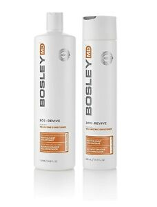 Bosley MD BosRevive Colour Safe Volumising Conditioner 300ml & 1L Available