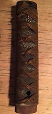 Vintage Japanese samurai sword tsuba