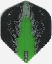 Green Splash R4X Dart Flights: 3 per set