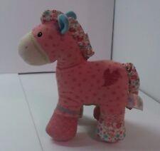 "Gund Baby Designer horse Pinkaboo Plush stuffed animal toy 7"" boys girls"