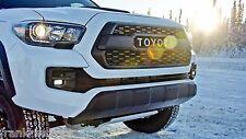 "Toyota Tacoma 2016 - 2017 TRD Pro ""TOYOTA"" Block Letter Black Grill - OEM NEW!"