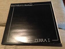 "ZERRA ONE - THE WEST'S AWAKE 12"" MAXI UK INDIE POP WAVE 83' SECOND VISION"
