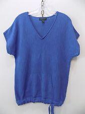 Ralph Lauren blue short sleeve sweater-size medium