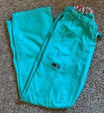 KOI women's lindsey cargo scrub pants mint green size XXS