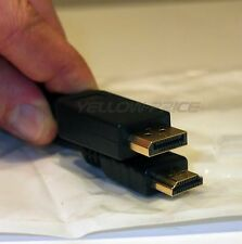 High Quality DisplayPort Male To HDMI Male Cable / Displayport To HDMI M/M Cable
