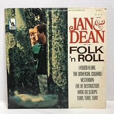 JAN & DEAN FOLK N' ROLL LIBERTY RECORDS STEREO LST-7431 VG++/EX