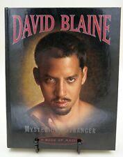 David Blaine - Mysterious Stranger, a book of magic, Topzustand