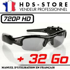 SUNG2 LUNETTES CAMÉRA SPORT ESPION HD 720P + MICRO SD 32 GO VIDEO PHOTO AUDIO