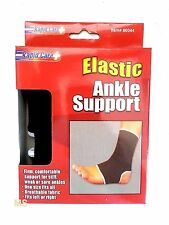 2 Pk Elastic Support Ankle Brace Sport Wrap Muscle Arthritis Pain Relief Sleeve