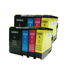 8x NEW CHIP 932XL 933XL Ink Cartridges For HP Officejet 7612 6700 7610 7110 6600