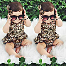 Neonato Bambini Bambina Vestiti body bebè Tutina Intera Completi Monopezzo 0-24M