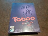 NEW SEALED TABOO Board Game by HASBRO - NEW