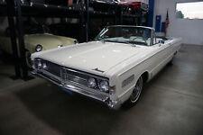 New listing  1966 Mercury S-55 428/345Hp Super Marauder V8 Convertible