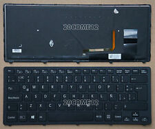for SONY VAIO Fit 14A multi-flip PC SVF14N KEYBOARD Backlit Black Latin Spanish