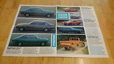 1977 Mazda Range Brochure Inc. 323, 616, 818, 929 Ranges