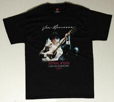 Van Morrison _Rare_ 2010 Astral Weeks Live Concert Shirt Hanes M Irish Rock Tour