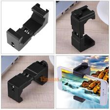 Cell Phone Tripod Mount Bracket Holder Adapter Clamp for iPhone X Samsung S8