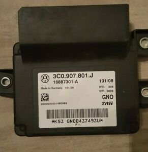 VW PASSAT VARIANT (3C5) Steuergerät 3C0907801J Parkbremse
