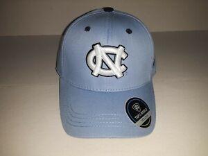 North Carolina Tar Heels 1 Fit Stretch Fit White Block NC Youth Hat