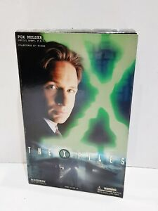 "THE X-FILES SIDESHOW COLLECTABLES 12"" FOX MULDER FIGURE"