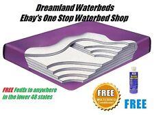 KING/CAL K 99% Waveless Lumbar Waterbed Mattress-Factory Direct Pricing-SAVE $$