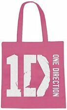 ONE Direction Borsa Shopping Rosa, 1D, Pop Stars, Scuola, College, vacanze 2648434