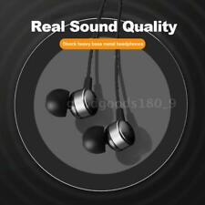 Type C Auricolare USB-C In Ear Metallo Stereo Musica Cuffie Mic per Phone U4V0